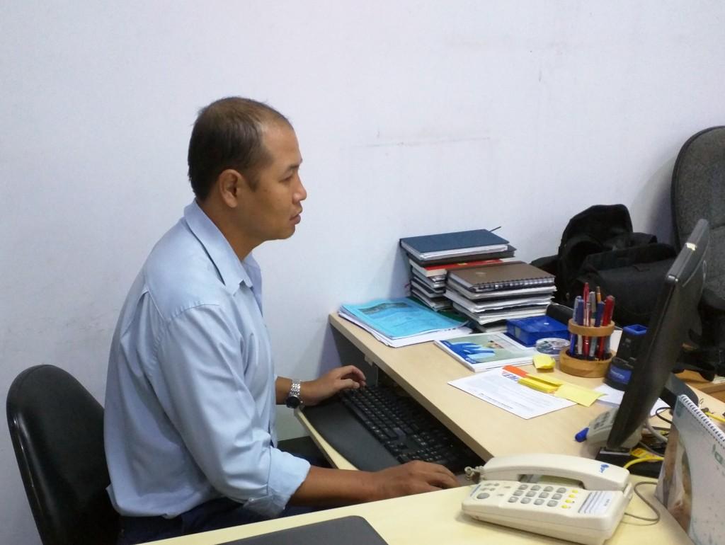 K.VP - Ong Nguyen Ngoc Tho - MNV 1823 - Ngay vao 2-8-2004